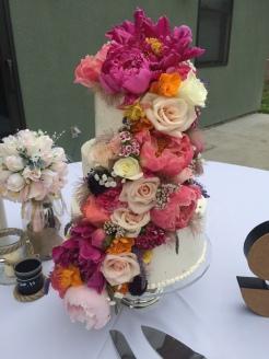 Flower Explosion Cake