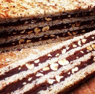 Perfect Hazelnut Cake Layers